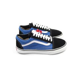 6c92cfd03d Vans Old Skool Azul E Preto Tamanho 41 - Tênis 41 no Mercado Livre ...