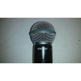 Microfono Transmisor Inalambrico Shure Beta 58a
