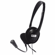 Auriculares Vincha C/ Mic Pc Notebook Chat Skype Gamer Htg