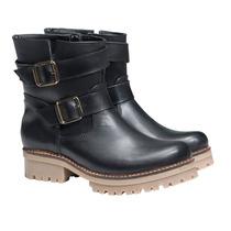 Borcego Botita Borceguito Mujer Zapatos Almacen De Cueros