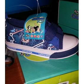 Zapatos Deportivos Gomas Con Luces Para Niños Tallas 22-24