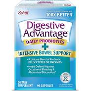 Digestive Advantage 96 Cap Enzima Para Intolerância Lactose