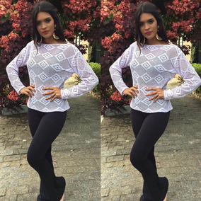 Blusa Trico Tricot Moda Feminina Vest Legging Frio Inverno