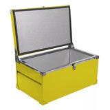 Caixa Térmica Cooler 110 Litros Gabinete Chapa Zincado