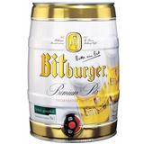Cerveza Importada Bitburger Barril 5 Litros- Bayres Bebidas
