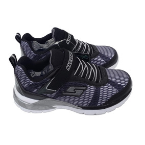 Zapatillas Con Luces Skechers - Negras