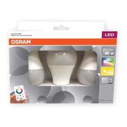 Lámpara Led Osram 7.5w Rgb Dimerizable C/control E27 X3 - E. A