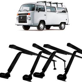 Rack De Teto Bagageiro Aço Volkswagen Kombi 1958 4 Peças
