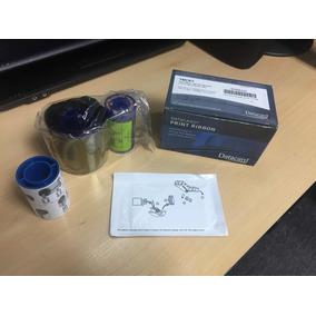 Cinta Ribbon Datacard Ymckt 500 Impresiones Color Ribbon Kit