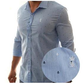 Camisa Social Sergio K N Abercrombie Hollister Armani