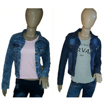 Campera De Jean Elastizada X Mayor Y Menor