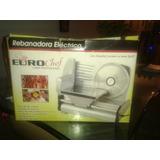 Rebanadora Electrica Euro Chef Linea Profesional