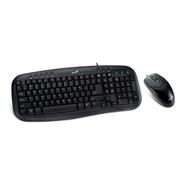 Teclado + Mouse Genius Km-200 Usb Blk Pc