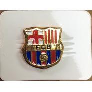Barcelona Pin Metalico Dorado Futbol Club Barcelona Barça