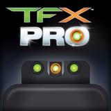 Truglo Tfx Pro Glock   Titium + Fibra Optica   Envio Gratis