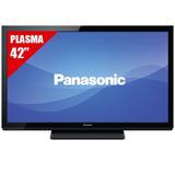 Tv Plasma Panasonic Viera 42 Pulgadas+ Soporte.