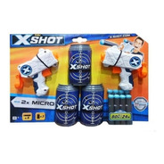 Pistola De Dardos Juguete X Shot 2x Micro Con 8 Dardos