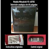 Televisión Analógica De Proyección Mitsubishi