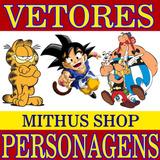 2900 Vetores Personagens Desenho Animado Tv