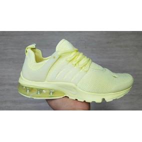 zapatillas nike presto mujer amarillas
