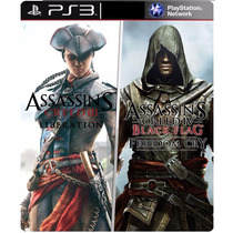 Assassins Creed Liberation Hd + Fredon Cry Ps3 Psn
