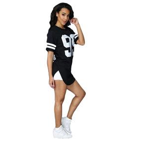 Blusa Feminina Oversized, Camiseta Long Line Feminina, Swag,