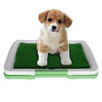 Sanitario Canino - Banheiro Para Cães Com Grama 47 X 34 X 6