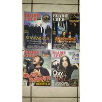 Lote 12 Revistas Roadie Crew Rock Metal Death Black Brigade
