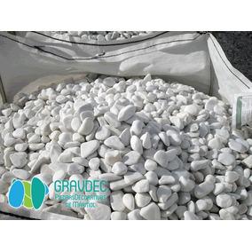 Piedra Bola De Mármol Blanco Ideal Para Jardinería + Envío