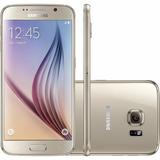 Smartphone Samsung Galaxy S6 G920 Dourado 32gb 4g | Vitrine