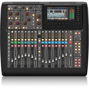 Mesa De Som Digital Behringer X32 Compact 16 Canais!