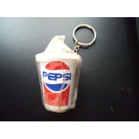 Chaveiro Antigo Da Pepsi - Formato De Copo