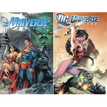 Dc Universe On Line Pack 1 A 10 Dc Comics Ecc Envio Gratis