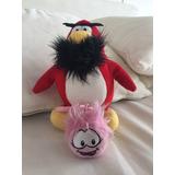 Pingüino De Club Penguin Y Llavero De Pufle. Divinoo!!!!