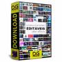 Projeto Editável After Effects 275 Elementos Animados - Dg08