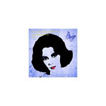 Pop Art Elizabeth Taylor So Much To Do Graphic Art On Wrap
