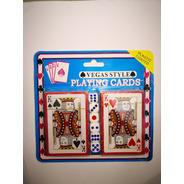 Juegos Naipe Inglés Cartón Plastificado Con 6 Dados / 205005