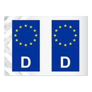 2 Adesivos Alemanha União Europeia - Alemão - Outros Países