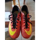 Zapato Tacos De Futbol Nike Mercurial