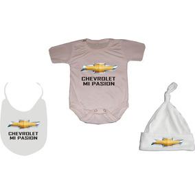 Ajuar Para Bebés Logo Chevrolet