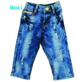 Pantalones Y Bermudas Jeans Para Bebes 12-18-24 Mesesoferta