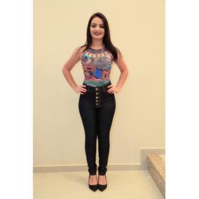 Linda Calça Shadow Feminina Skinny Hot Pants