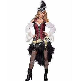 Adult High Seas Treasure Pirate Costume - Theatrical