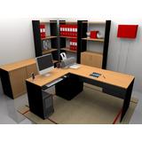 Escritorios / Mesas De Pc / Muebles De Oficina Modelo Dasha