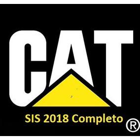 Cat. Eletrônico De Peças E Serv. 2018 + Caterpillar Sis 2018