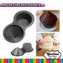 \(^-^)/ Molde Cupcake Gigante Mini Cake Reposteria Importado