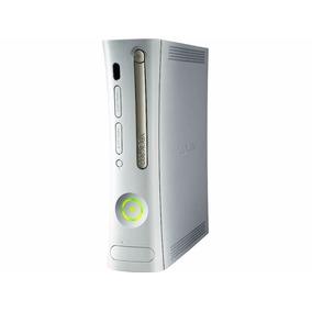Consola Xbox 360 Fat Con Chip, Color Blanco, Solo Consola.