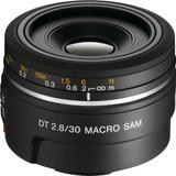 Sony Sal30m28 30mm F/2.8 Lens For Alpha Digital Slr