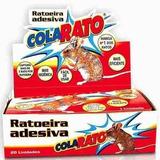 Ratoeira Adesiva Cola Visgo Pega Ratos Caixa C/ 20 Unidades