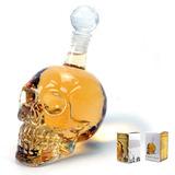 Botella Decantador Crystal Skull Head Vodka Whisky Vino